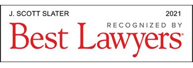 J. Scott Slater Recognized by Best Lawyers