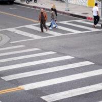 elderly pedestrian accident