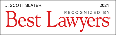 J. Scott Slater Recognized by Best Lawyers